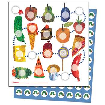 The Very Hungry Caterpillar Mini Incentive Charts By Carson Dellosa