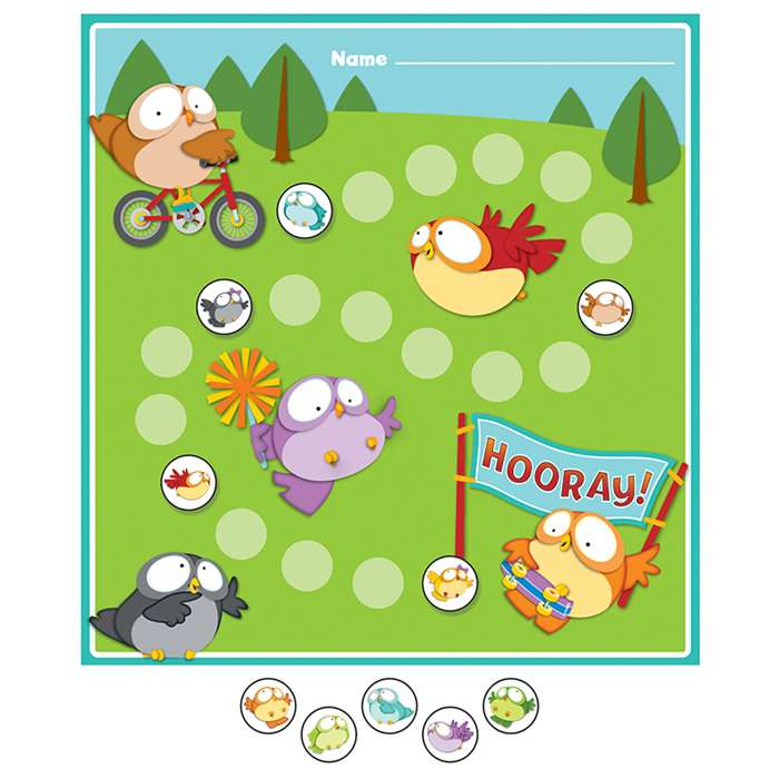Owl Pals Mini Incentive Charts, CD-148024