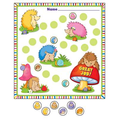 Happy Hedgehogs Mini Incentive Charts, CD-148025