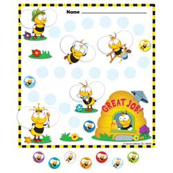 Buzz-Worthy Bees Mini Incentive Charts, CD-148026