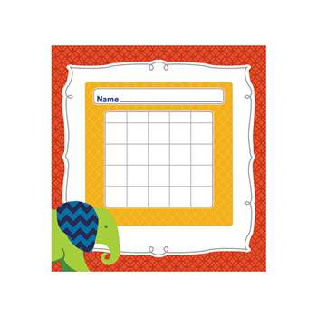 Parade Of Elephants Mini Incentive Charts, CD-148027