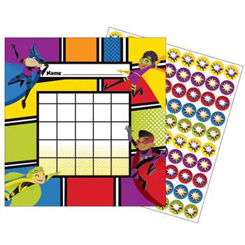 Super Power Mini Incentive Charts, CD-148028