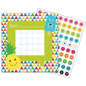 School Pop Mini Incentive Charts, CD-148030