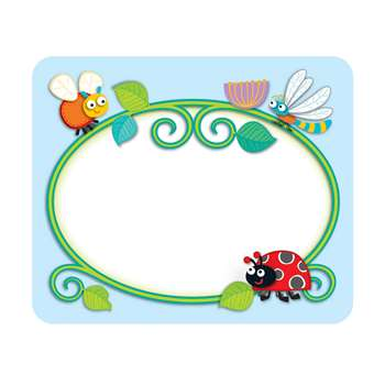 Shop Buggy For Bugs Name Tags - Cd-150037 By Carson Dellosa