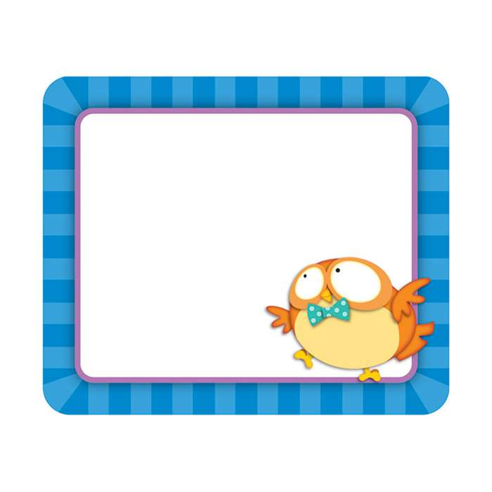 Owl Pals Name Tags, CD-150042