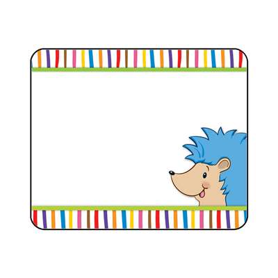Happy Hedgehogs Name Tags, CD-150043