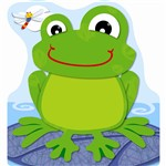 Funky Frogs Note Pad By Carson Dellosa