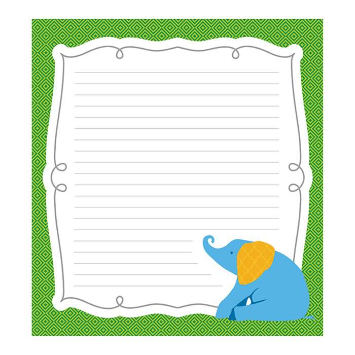 Elephant Notepads Gr Pk-8, CD-151082