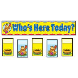 Attendance Replacement Cards Pocket Charts By Carson Dellosa