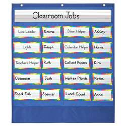 Classroom Helpers Pocket Chart By Carson Dellosa