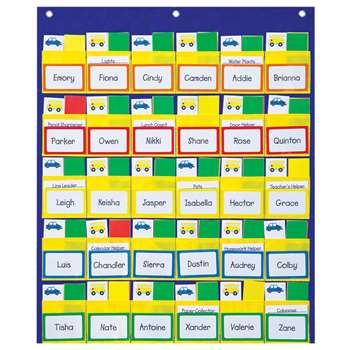 Classroom Management Pocket Charts Gr K-2 By Carson Dellosa