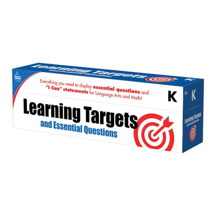 Gr K Learning Targets & Essential Questions, CD-158057