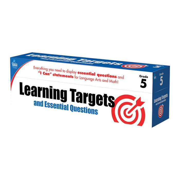 Gr 5 Learning Targets & Essential Questions, CD-158062