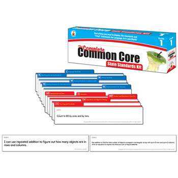 Gr 1 The Complete Common Core State Standards Kit By Carson Dellosa