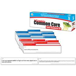 Gr 5 The Complete Common Core State Standards Kit By Carson Dellosa