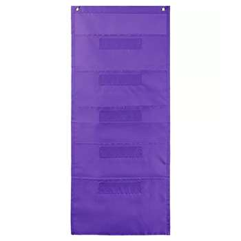 File Folder Storage Purple Pocket Chart, CD-158563