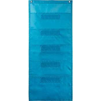 File Folder Storage Teal Pocket Chart, CD-158567