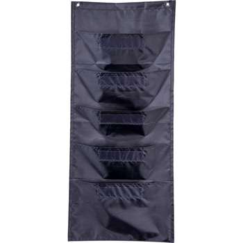 File Folder Storage Black Pocket Chart, CD-158569