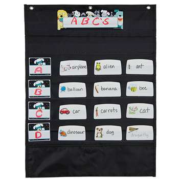 Mini Essential Pocket Chart Black, CD-158571