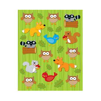 Woodland Animals Shape Stickers 84Pk By Carson Dellosa