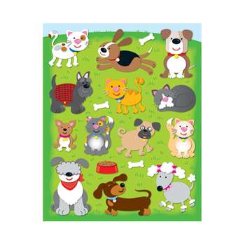 Dogs & Cats Shape Stickers 78Pk By Carson Dellosa