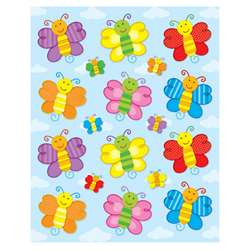 Butterflies Shape Stickers 72Pk By Carson Dellosa