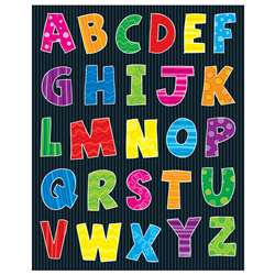 Alphabet Shape Stickers 156Pk By Carson Dellosa