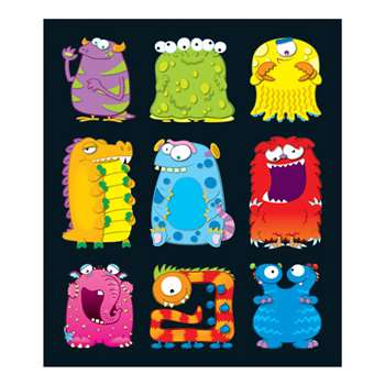 Monsters Prize Pack Stickers By Carson Dellosa