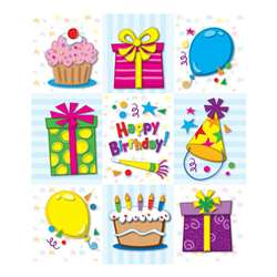 Birthday Prize Pack Stickers By Carson Dellosa