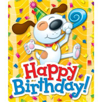 Happy Birthday Stickers By Carson Dellosa