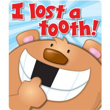 I Lost A Tooth Stickers By Carson Dellosa