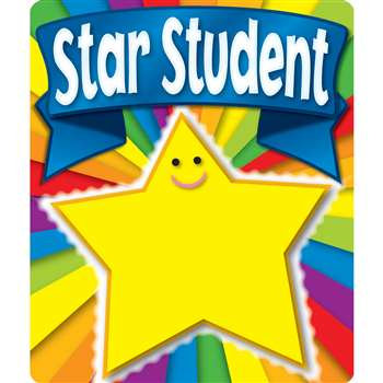 Star Student Stickers By Carson Dellosa