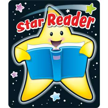 Star Reader Stickers By Carson Dellosa