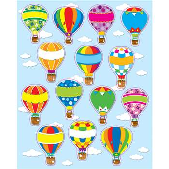 Hot Air Balloons Stickers By Carson Dellosa