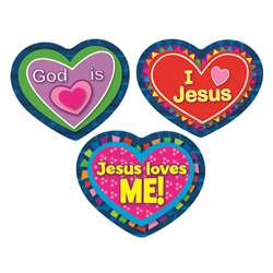 Jesus Loves Me Stickers By Carson Dellosa