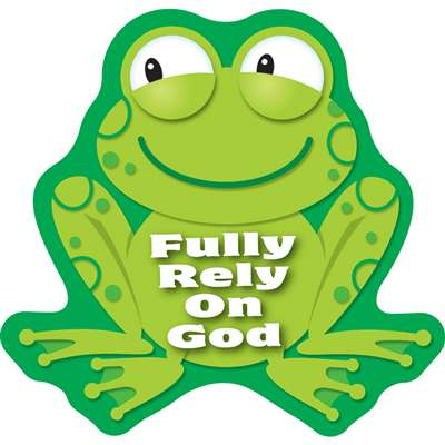 Fully Rely On God Stickers By Carson Dellosa
