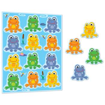 Funky Frogs Stickers By Carson Dellosa