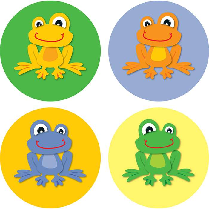 Funky Frogs Chart Seals By Carson Dellosa