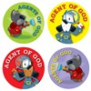 Agent Of God Stickers, CD-168161