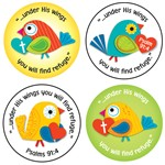 Under His Wings Stickers, CD-168165