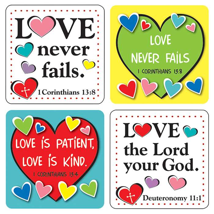 Love Verses Stickers, CD-168170