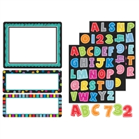 Colorful Chalkboard Stickers, CD-168180