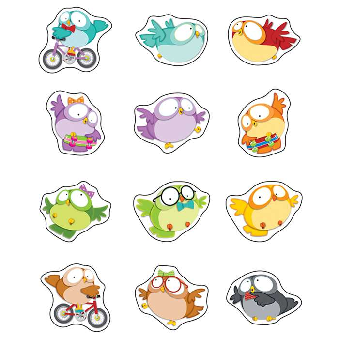 Owl Pals Stickers, CD-168181