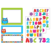 Colorful Owls Stickers Gr Pk-8, CD-168182