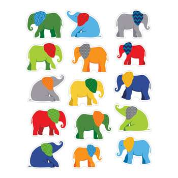 Elephant Stickers Gr Pk-8, CD-168186