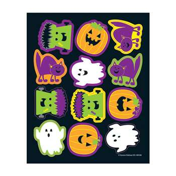 Halloween Shape Stickers, CD-168189