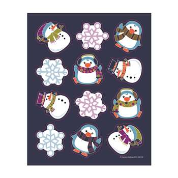 Winter Fun Shape Stickers, CD-168192