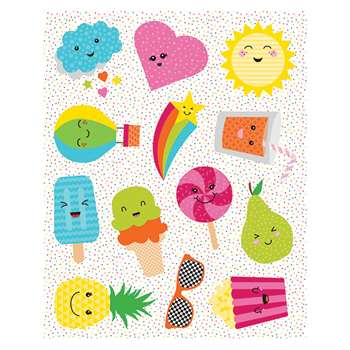 School Pop Shape Stickers, CD-168206
