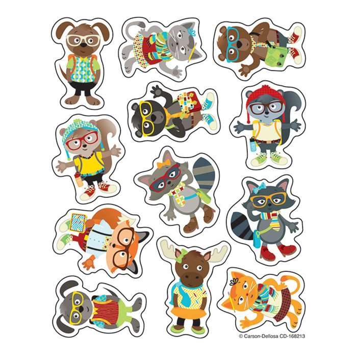 Hipster Shape Stickers, CD-168213