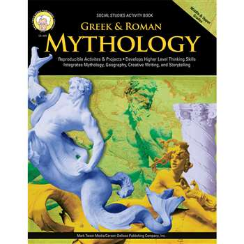 Greek And Roman Mythology Gr 5-8 By Carson Dellosa
